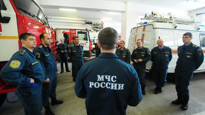 В пожарную часть на Уралмаше принесли мину
