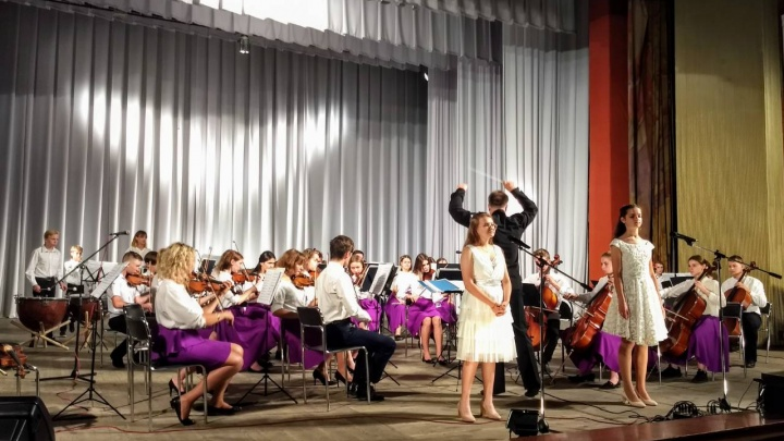 «Музыка, чтобы передать боль и скорбь»: Волгоградский детский симфонический оркестр сыграл в Беслане