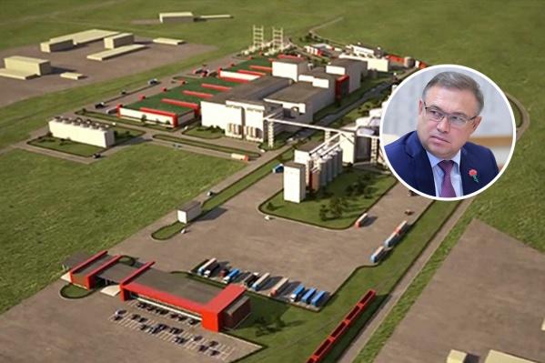 В строительство комплекса уже вложили15 миллиардов рублей