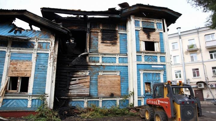Суд оштрафовал собственника подожжённой бывшей детской больницы