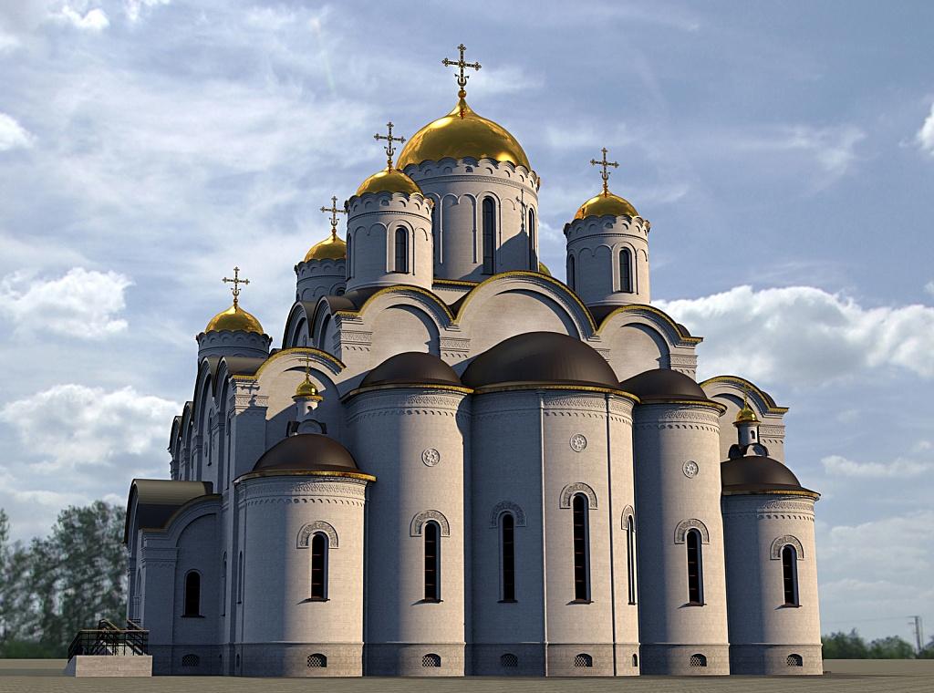 Над эскизным проектом работал главный архитектор архитектурно-художественных мастерских московского Данилова монастыря