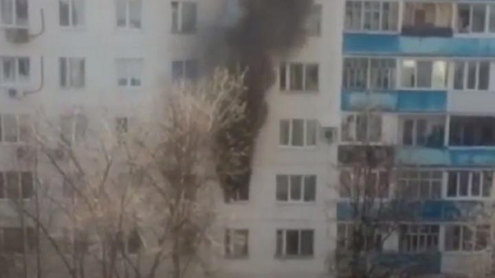 В Уфе из-за пожара эвакуировали 46 человек