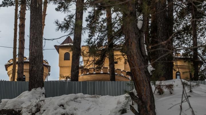 Властелин Кудряшей: НГС узнал, кому принадлежит замок за 135 миллионов