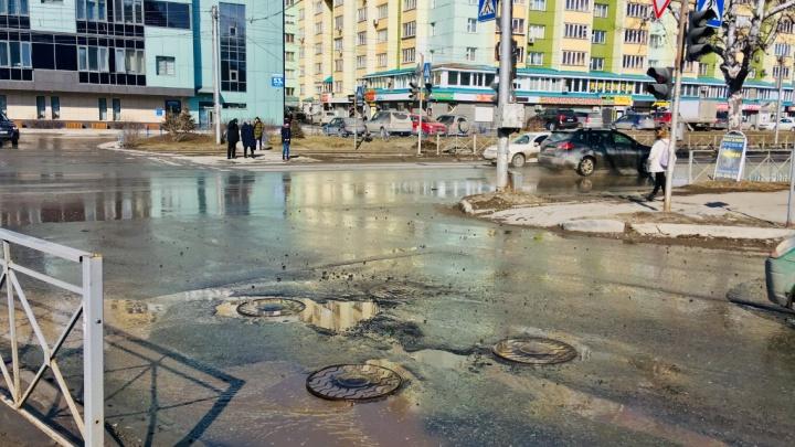 Снова с нами: в Новосибирске ожила легендарная яма на Котовского