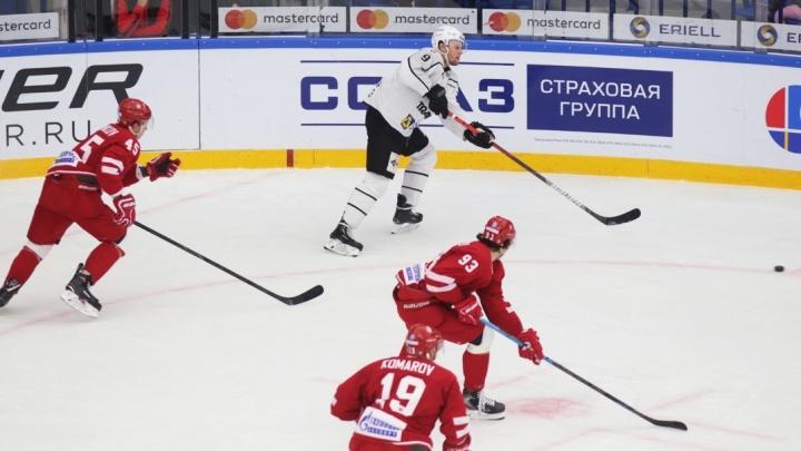 Челябинский «Трактор» проиграл первый матч выездной серии