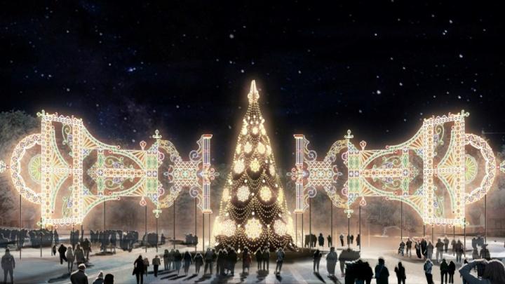 Блогер — о новогодней иллюминации в Уфе: «Стекляшки — это же красиво, дело рук зарубежных мастеров»