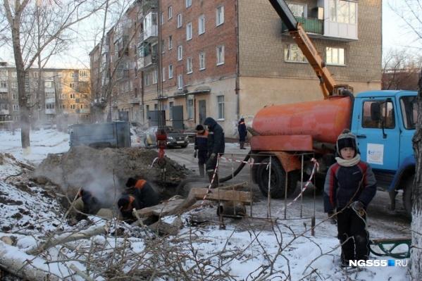 Из-за ЧП в Октябрьском округе без тепла остались восемь жилых домов