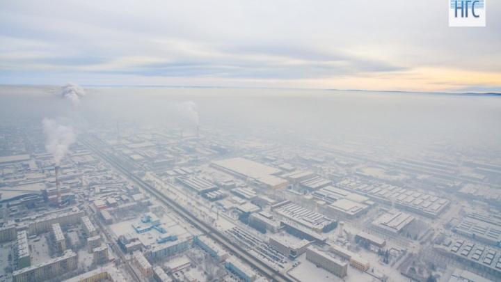 Роспотребнадзор: воздух в Красноярске чище, чем в прошлом году