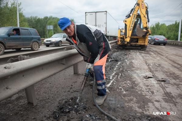 Общая протяженность ремонтируемого участка — 8,4 километра