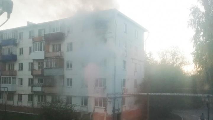Погибли дети: следователи рассказали, из-за чего возник пожар в чапаевской хрущевке