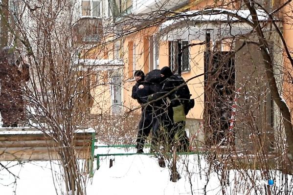 Взрыв гранаты произошел вчера на улице Светлоярской