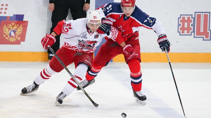 ХК «Ростов» в Москве обыграл одного из фаворитов ВХЛ