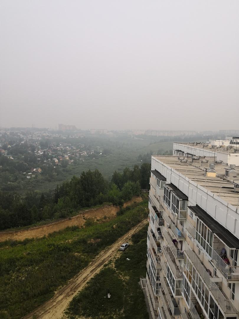 Плотность смога с 21 июля практически не изменилась