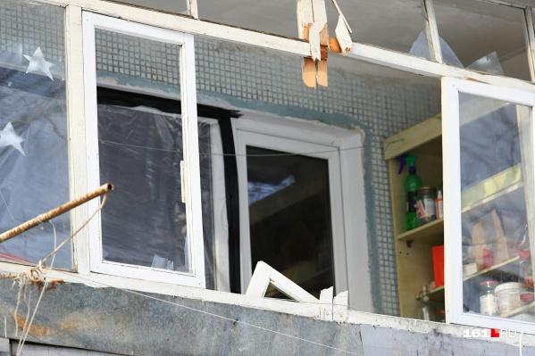 Услышав взрыв, соседи по дому вызвали полицию