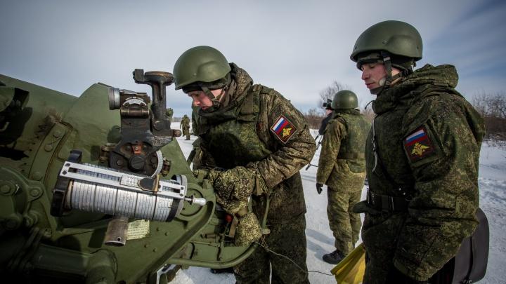 Новосибирские артиллеристы отправились на длинные и массовые сборы со стрельбой и беспилотниками