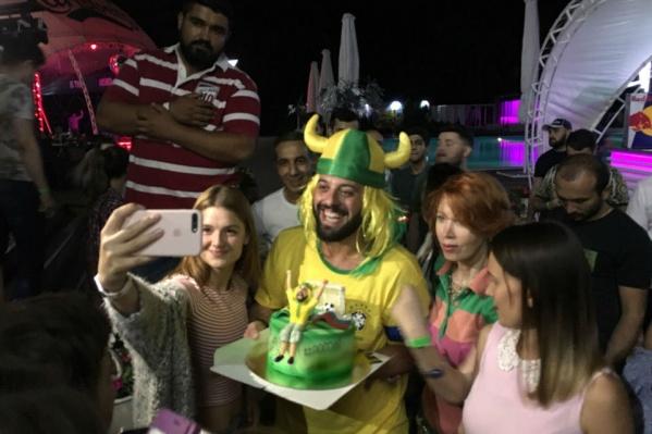 Ростовчане встретили бразильца в одном из ночных клубов города