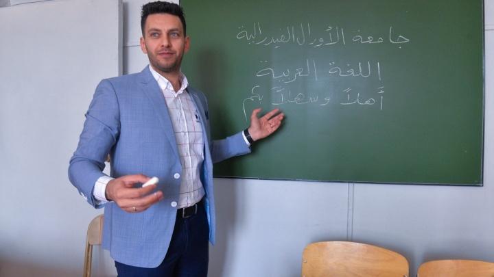 Палестинский учёный в Екатеринбурге: «Женщины в России — главные, они не слушаются мужчин»