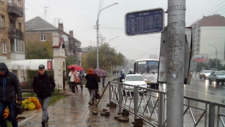 Ужасы «благоустройства» улиц Красноярска в двух фото