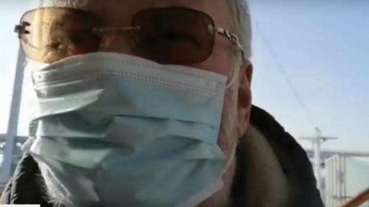 Омский бизнесмен оказался одним из пассажиров лайнера, дрейфующего в порту из-за эпидемии коронавируса