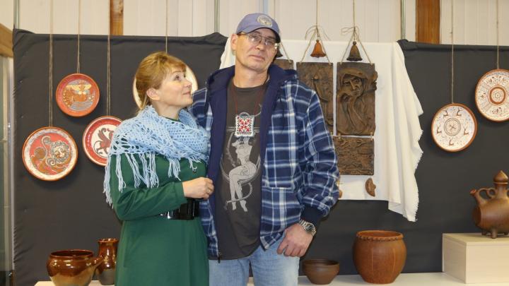 Дорога на двоих: они 20 лет вместе делают керамику и решили показать Архангельску, чему научились