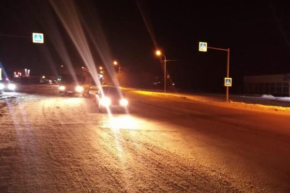 ДТП случилось примерно в 37 километрах от Новосибирска