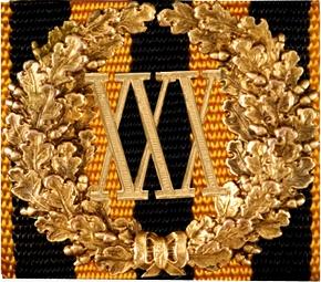 Знак отличия «За безупречную службу» (30 лет)