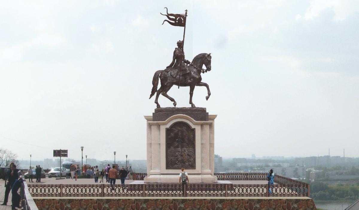 Вот так может выглядеть памятник в честь Александра Невского