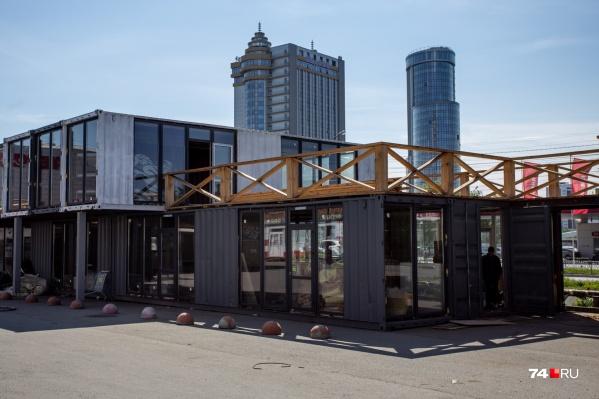 Первая часть комплекса почти закончена, скоро начнётся внутренняя отделка