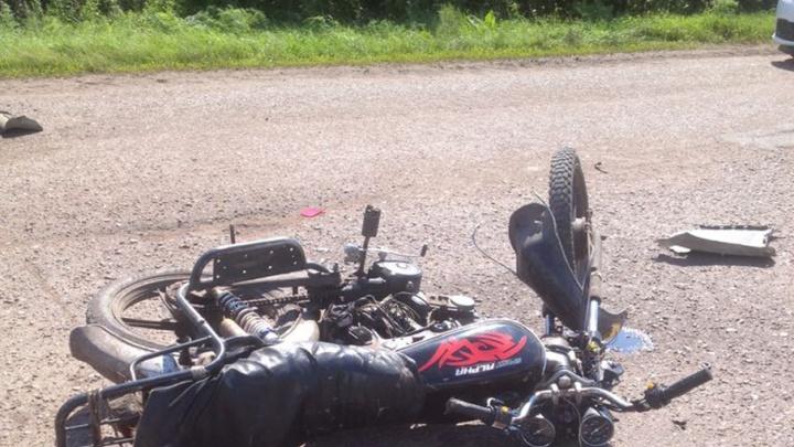 Водитель мопеда разбился насмерть в ДТП в Башкирии