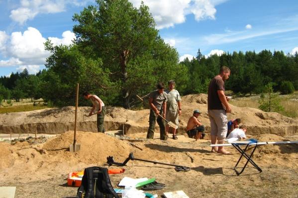 О древнем кургане было известно давно, но раскопки начались только сейчас