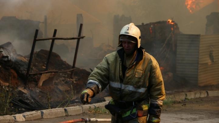 В пожаре в Ростовской области погибли три девочки