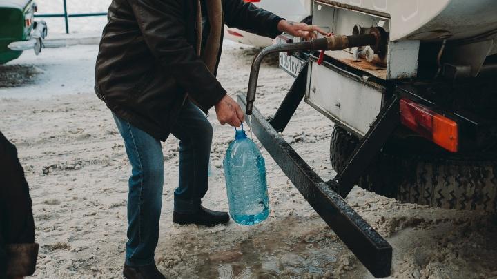 Десяток жилых домов в микрорайоне Южный на сутки остался без воды