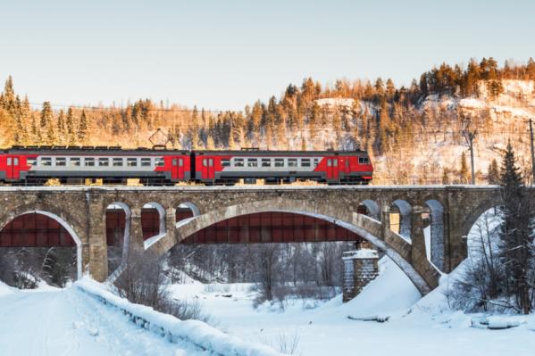 Поезда будут следовать в течение всей зимы