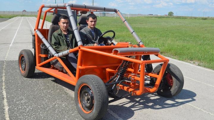 Студенты из Башкирии создали необычный автомобиль высокой проходимости