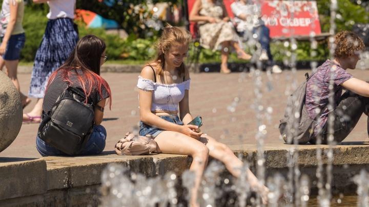 И опять жара: в Новосибирск возвращается тепло