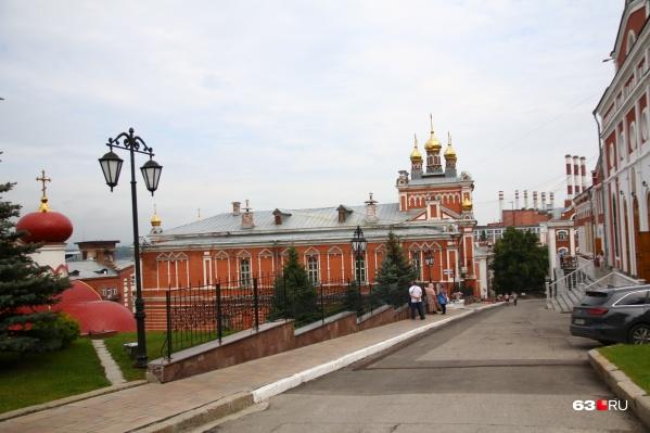 Храм построили в 1903 году