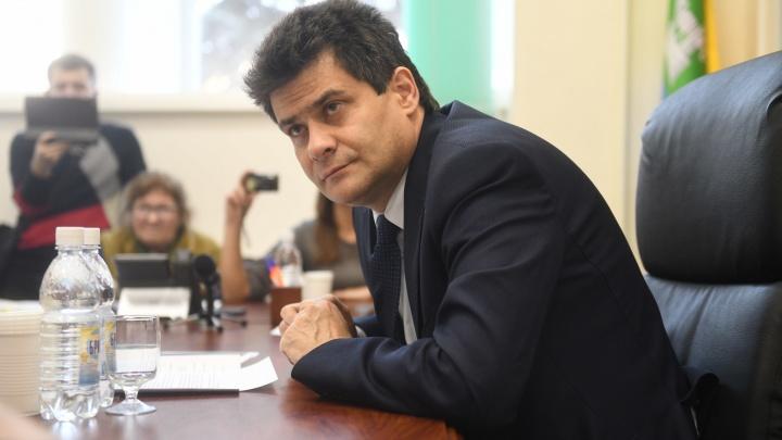 Отвечает за все скандалы года: мэр Екатеринбурга в прямом эфире на Е1.RU