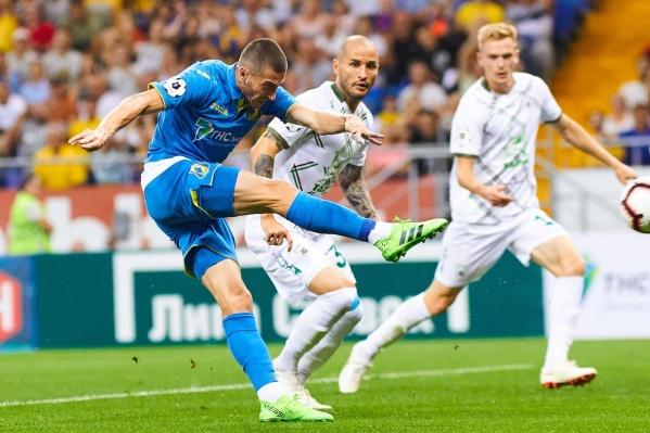 «Ростов» не проигрывал «Рубину» в трех последних матчах