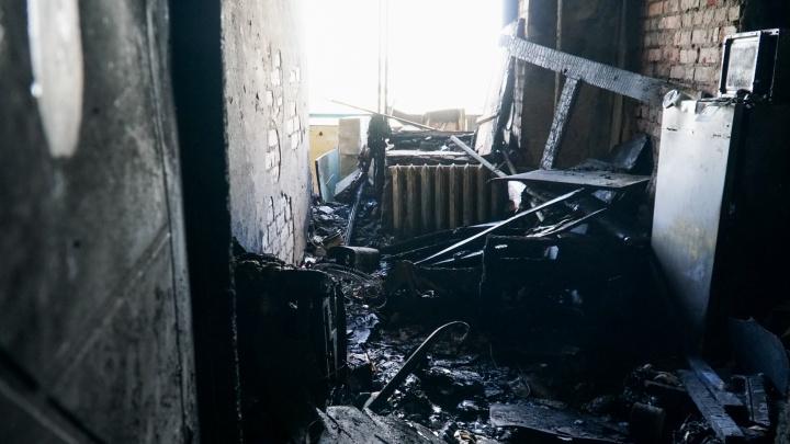 В Прикамье отец отравился дымом, спасая на пожаре своих детей