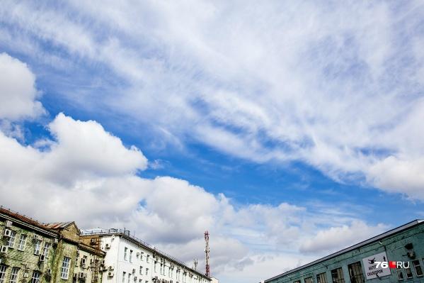 Такой тёплый апрель в Ярославле бывает не каждый год