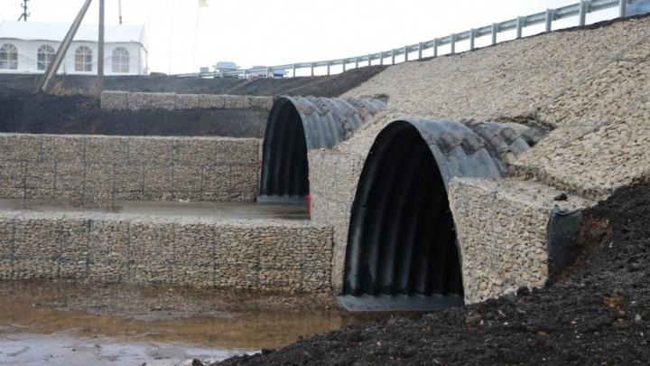 Дорожники реконструировали участок трассы «Уфа — Оренбург»
