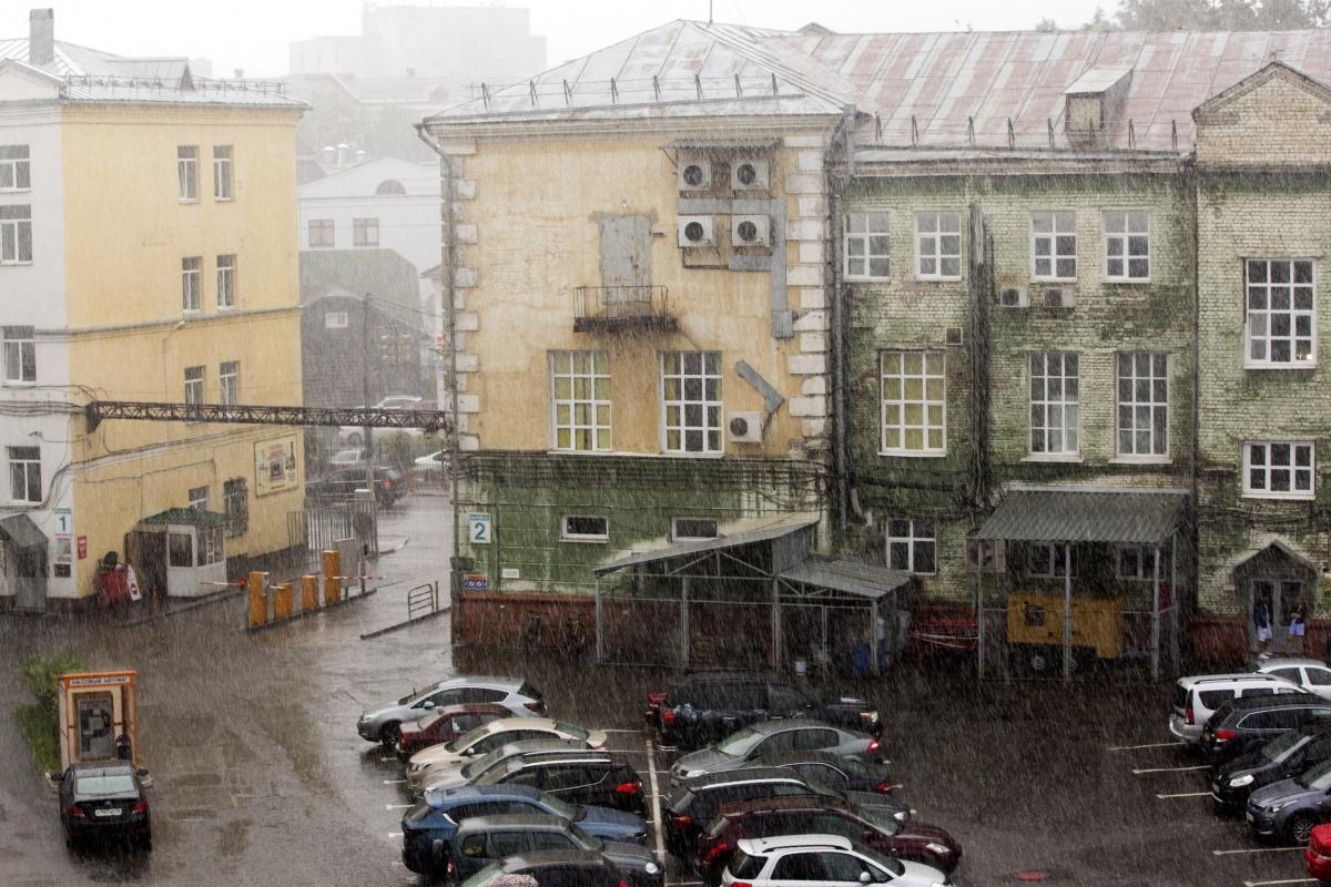 Дожди уже обрушились на Ярославль