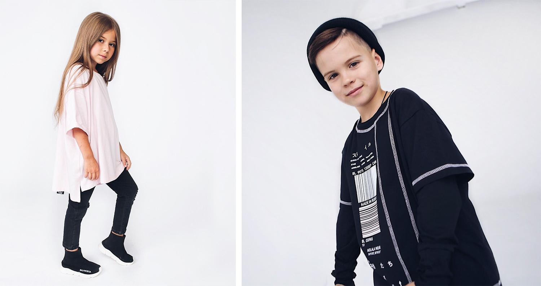 Именно так пара одевала бы своих детей: им нравится оверсайз, чёрный цвет и одежда-унисекс. Они до сих пор помнят имена первых покупателей —Анна и Олеся