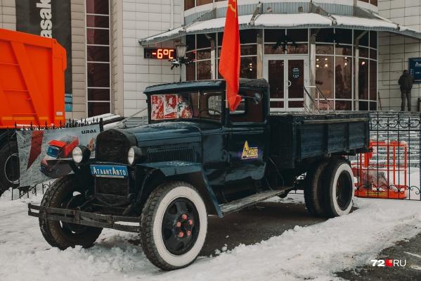В мире осталось всего несколько экземпляров автомобиля маркиГАЗ-АА