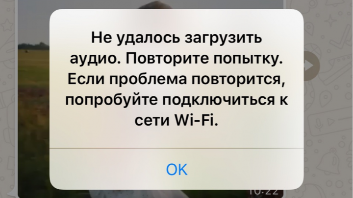 Не получается отправить фото и голосовые сообщения: в работе WhatsApp произошел массовый сбой