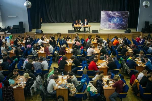 В интеллектуальном турнире участвовало 42 команды из разных городов Сибири