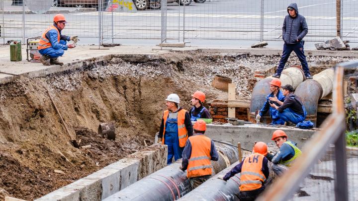 Из-за аварии на водопроводе в Перми без воды остались 33 дома