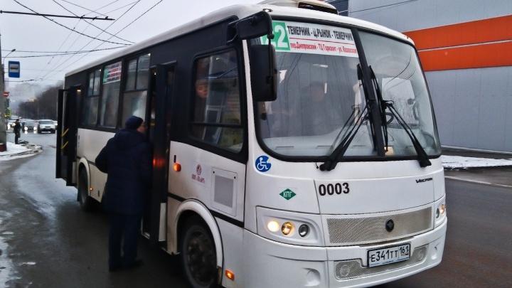 В Ростове водитель автобуса №22 провез директора дептранса мимо остановки — прямо во время рейда