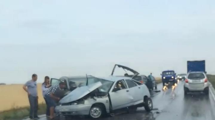 Смертельное ДТП на границе с Башкирией: видео с последствиями аварии попало в соцсети