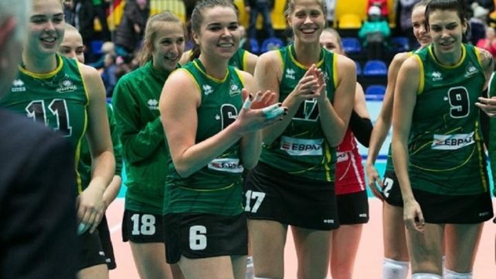 «Уралочка» победила в гостевом матче и вышла в полуфинал чемпионата России по волейболу